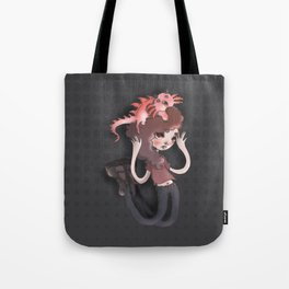 The monster in my head is cuter than me Tote Bag