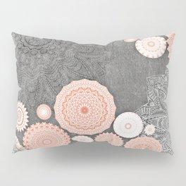 FESTIVAL FLOW BLUSH SUNSHINE Pillow Sham
