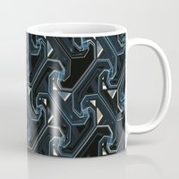 industrial Mugs featuring Industrial by AlexinaRose