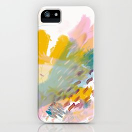 Taking Care of Oneself iPhone Case