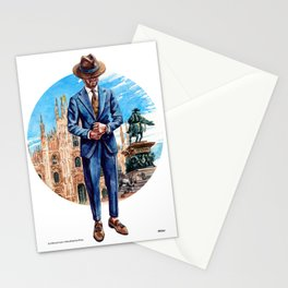 The Milano Man Stationery Cards