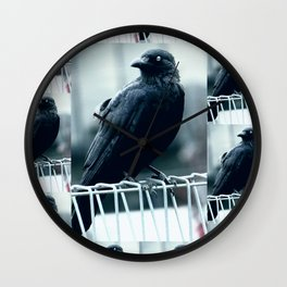 "Quoth The Raven ""Nevermore"" Wall Clock"