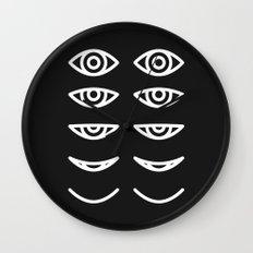 Eyes in Motion Wall Clock