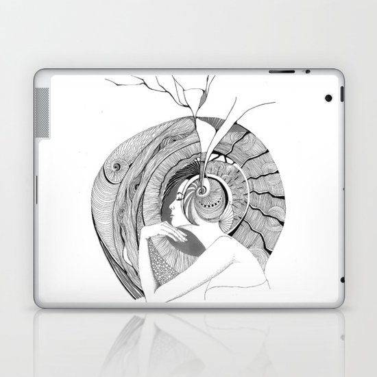 Egocentric Laptop & iPad Skin