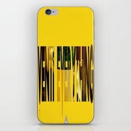 Venti Everything! iPhone Skin