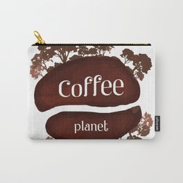 Welcome to the Coffee planet - I love Coffee Carry-All Pouch