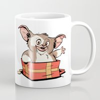 gizmo Mugs featuring Gizmo Gift by The Drawbridge