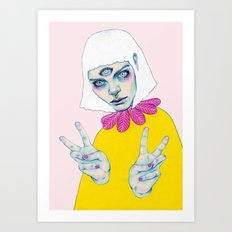 Bablien II - Space Princess Art Print