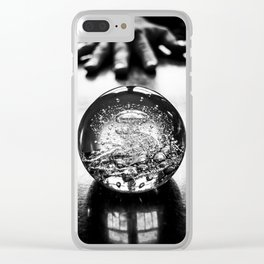 my own private universe Clear iPhone Case