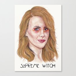 Supreme Witch - Coven Canvas Print