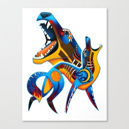Oaxacan Coyote Canvas Print