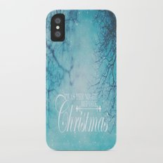 Twas The Night Before Christmas iPhone X Slim Case