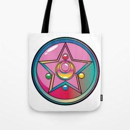 Magical Moon Neon Compact Tote Bag