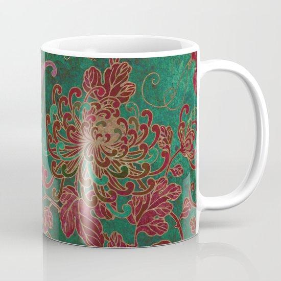 Chrysanthemum Garden Mug
