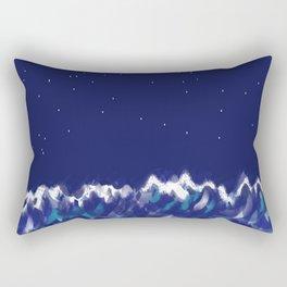 sea at night Rectangular Pillow