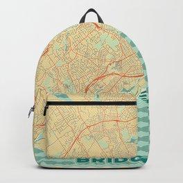 Bridgeport Map Retro Backpack