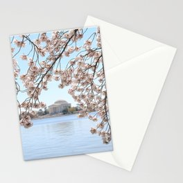 Cherry Blossoms in Washington, DC Stationery Cards