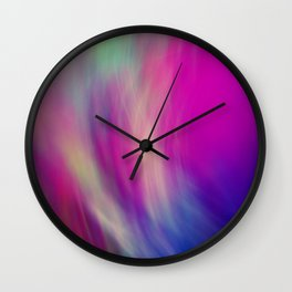 colour and light Wall Clock