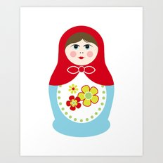 Matryoshka Doll 1 Art Print