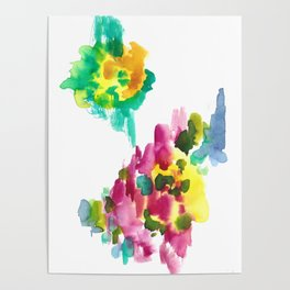 180802 Beautiful Rejection 15 | Colorful Abstract Poster