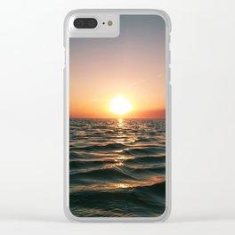 Lake Semash Clear iPhone Case