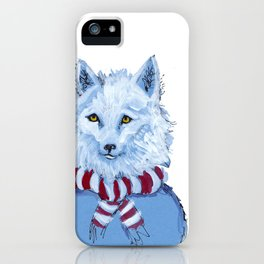 Winter Wolf iPhone Case