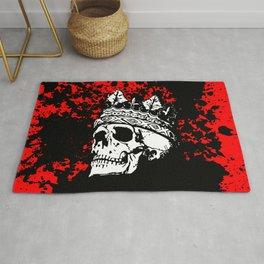 Skulking Skull King Rug