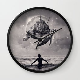 Moments of Bliss Wall Clock
