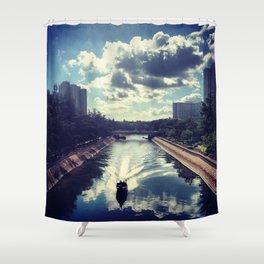 I Love Lam Tsuen River Shower Curtain