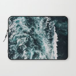 Green Seas, Yes Please Laptop Sleeve