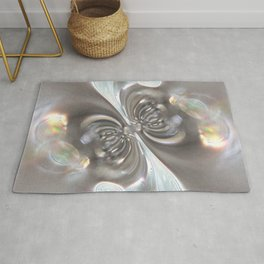 Magnetism - Abstract Art by Fluid Nature Rug