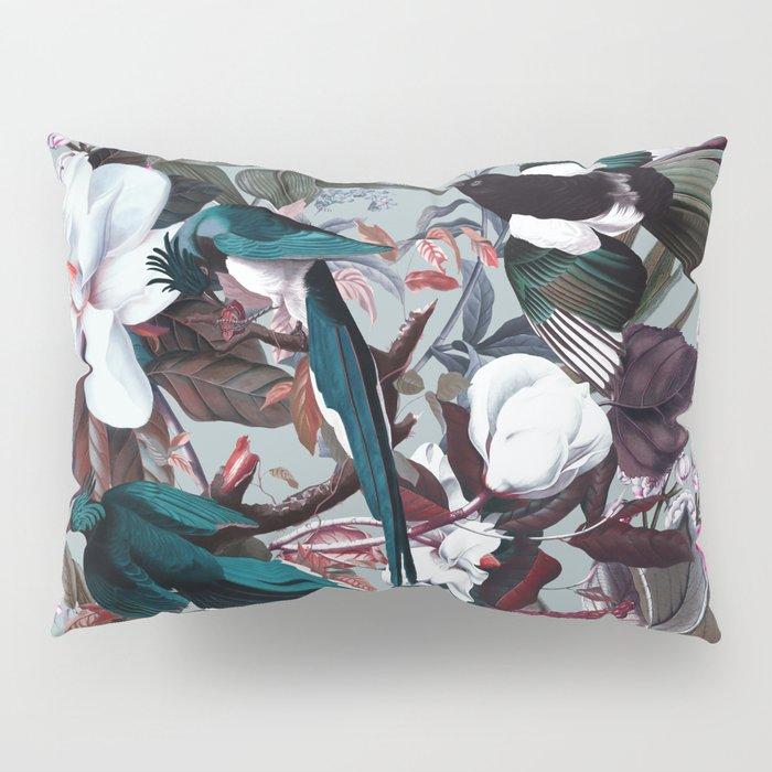 Floral and Birds XXIV Pillow Sham