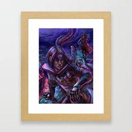 That Fateful Night Framed Art Print