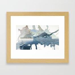 Days On The Bay Framed Art Print