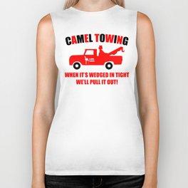 Camel Towing Funny T Shirt Adult Humor Rude Gift Tee Shirt Tow Truck Unisex Tee1collor Biker Tank