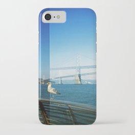 Gull and Bay Bridge iPhone Case