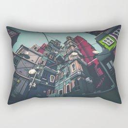 Yard in Inner Town Rectangular Pillow