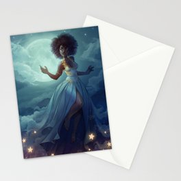 Lady of the sky Stationery Cards