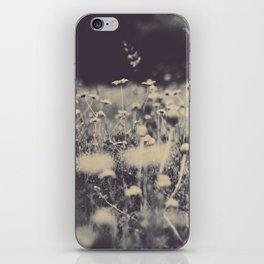 flowers field iPhone Skin