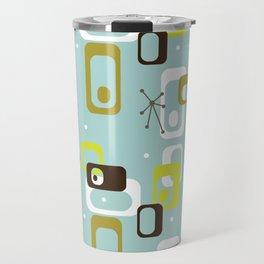Atomic Turquoise Travel Mug