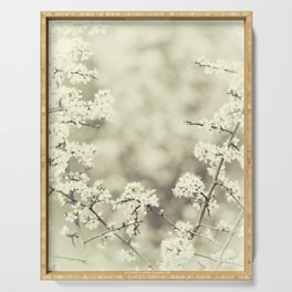 hedge blossoms Serving Tray