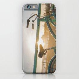 Bike & Beach in Sunny Manhattan Beach, California iPhone Case
