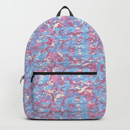 TCR-CAMO PRINT back pack - pastel Backpack