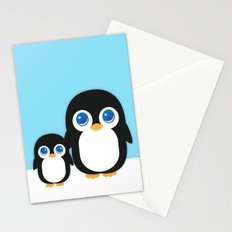 Adorable Penguins Stationery Cards