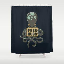 Free Hugs Octopus Shower Curtain