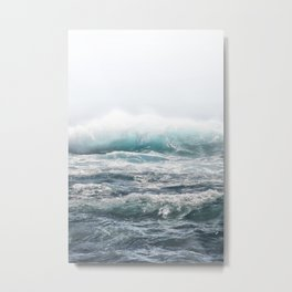 BIG SPLASH HAWAII Metal Print