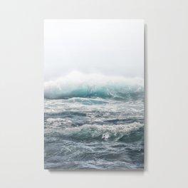 BIG SPLASH HAWAII Metal Print