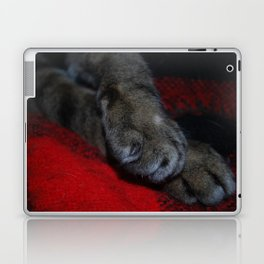 fuzzy feet Laptop & iPad Skin
