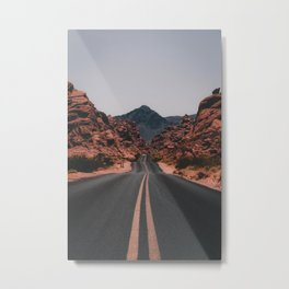 Road to anywhere Metal Print