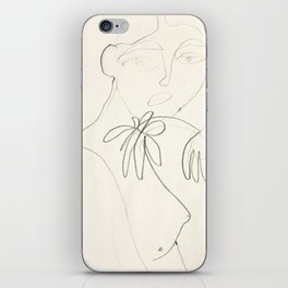 Una Flor: sketch iPhone Skin